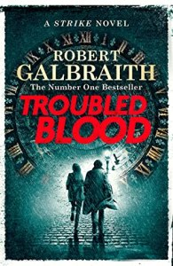 cover: Troubled Blood by Robert Galbraith