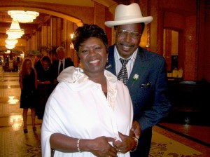 irma thomas at the new orleans roosevelt hotel