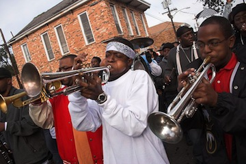 new orleans musicans brass band