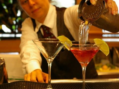 Martini Pour Commander's Palace