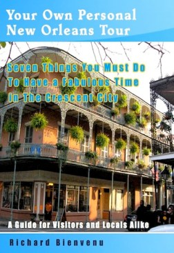 Your Own Personal New Orleans Tour travel guide stays bestseller