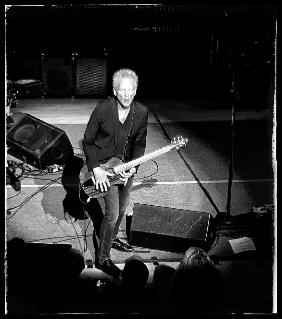 Lindsey Buckingham at Town Hall. Photo by Rick Stachura. December 4, 2018.
