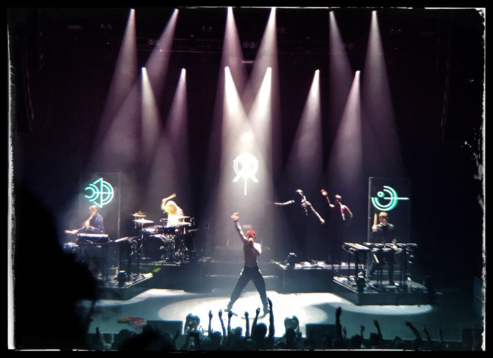 Years & Years at Terminal 5. Photo by Rick Stachura. October 8, 2018.