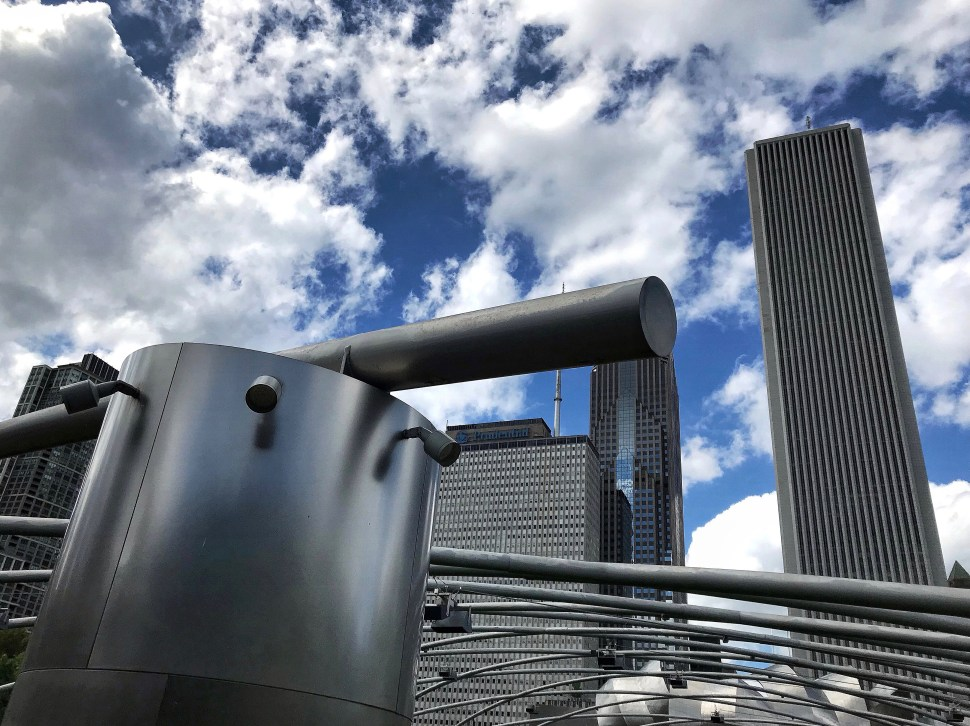 Not in New York. Jay Pritzker Pavillion. Millennium Park, Chicago, IL. Photo by Rick Stachura. May 25, 2019.