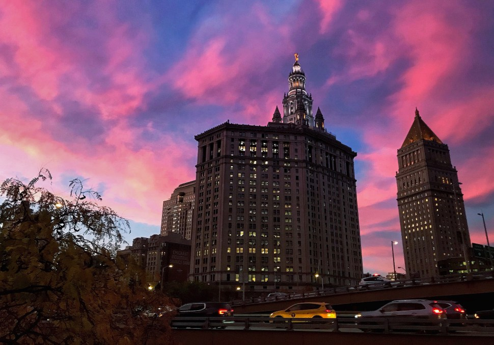 The Municipal Building and U.S. Courthouse. Photo by Rick Stachura. November 12, 2019.