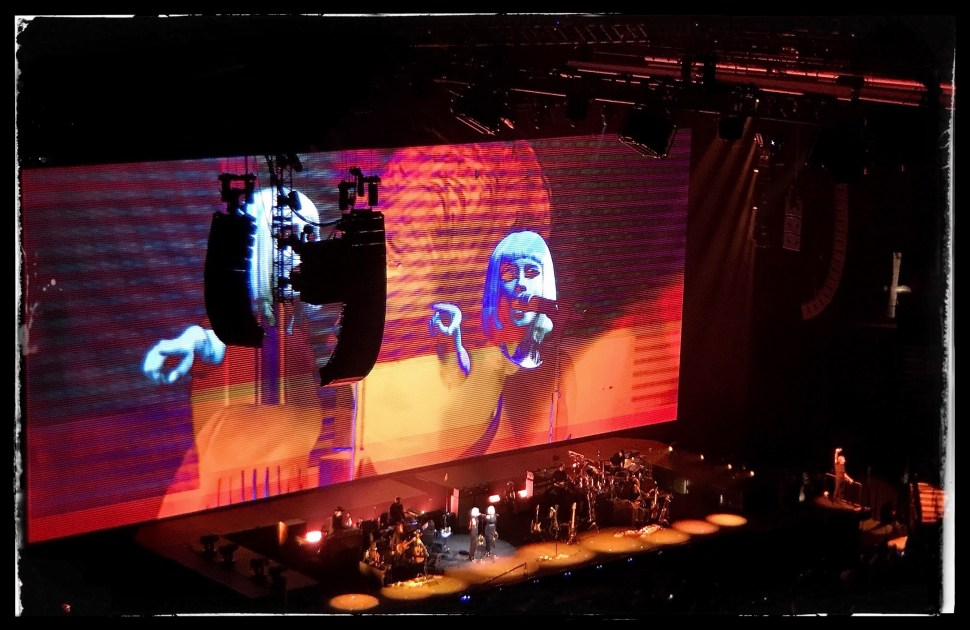 Roger Waters at Barclays Center. Photo by Rick Stachura. September 12, 2017.
