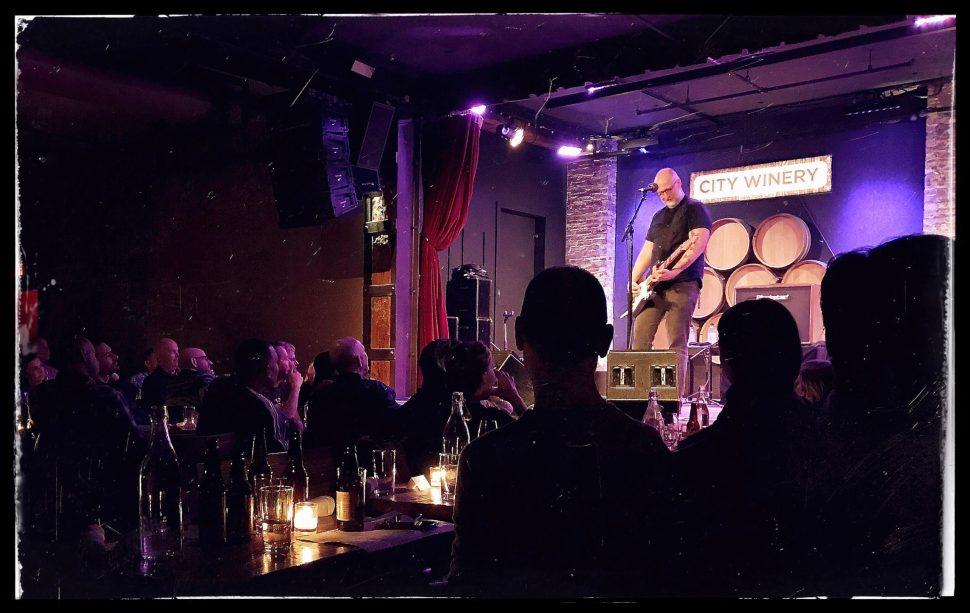 Bob Mould at City Winery. Photo by Rick Stachura. February 9, 2017.