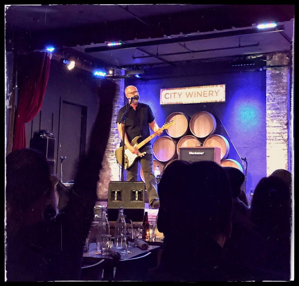 Bob Mould at City Winery. Photo by Rick Stachura. February 9, 2017.