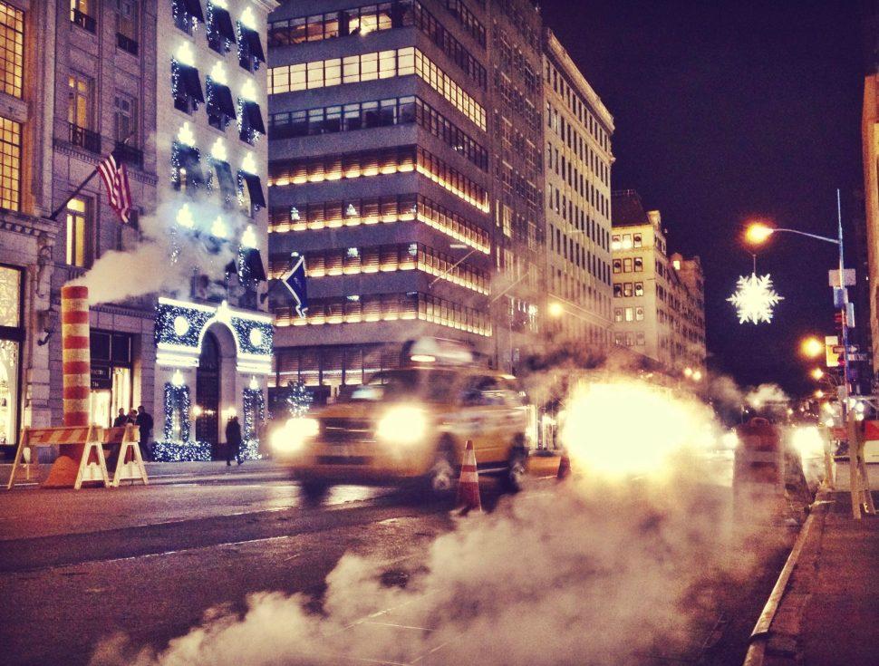 Steam. Photo by Rick Stachura. November 22, 2014.