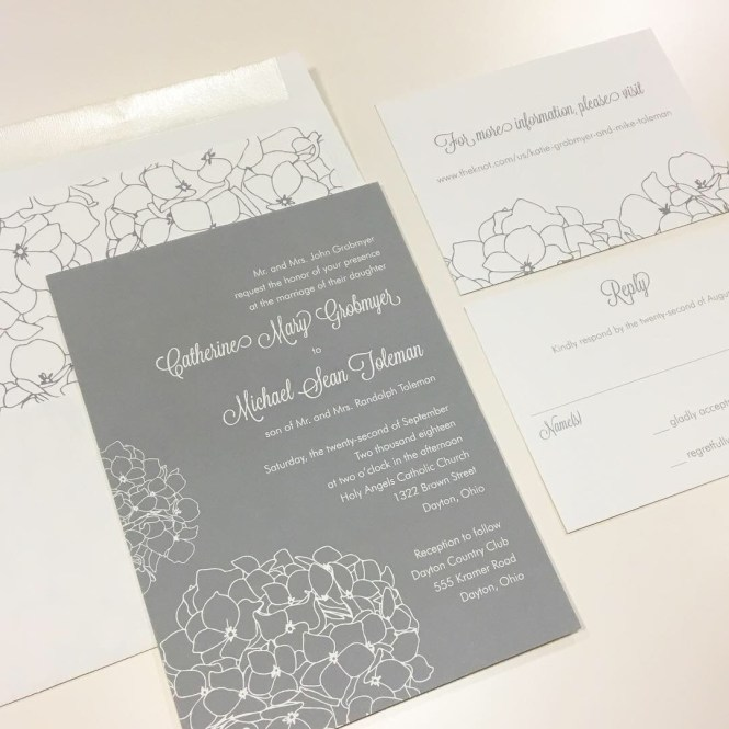Katie Mike S Wedding Invitation Noteworthy Notes
