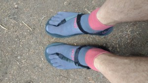 Shamma Sandals and Injinji socks!