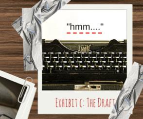 Writing a draft