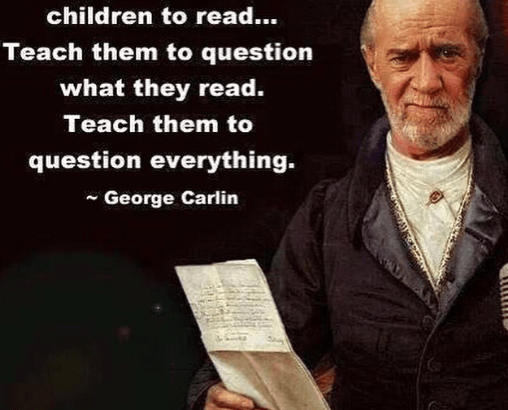 George Carlin on Reading