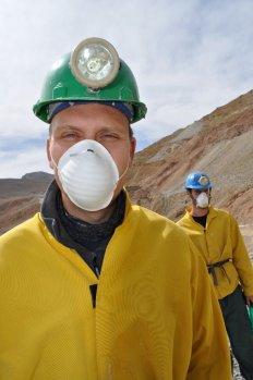 Bill ready to enter the Cerro Rico Mine