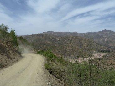 Mountain bkining the hills around Sucre