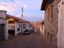 Sucre: Road to La Recoleta