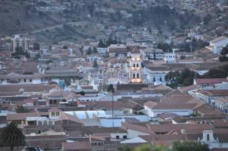 Sucre: View from La Recoleta