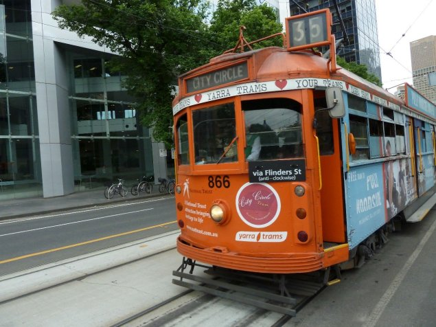 Circle tram - is free and provides great facts about the city