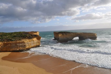 This rock formation is called London Bridge