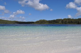 Lake McKenzie - great place for a swim