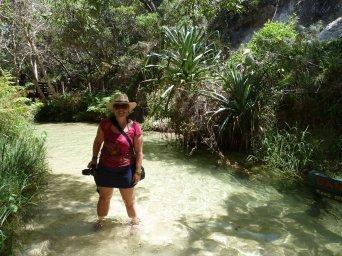 Eva in the Eli creek