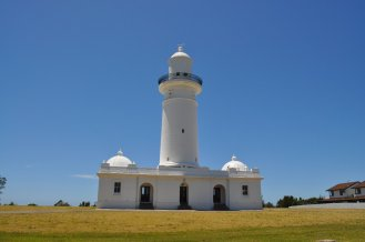 The lighthouse at Watson Bay