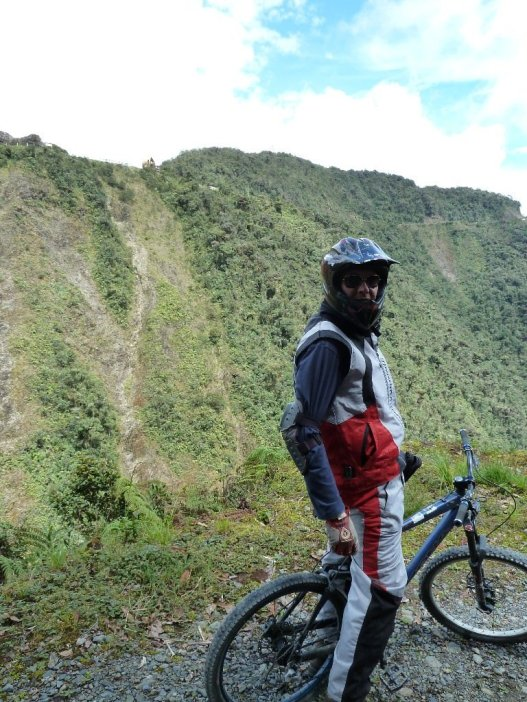 Death Road Bolivia bill taking a break