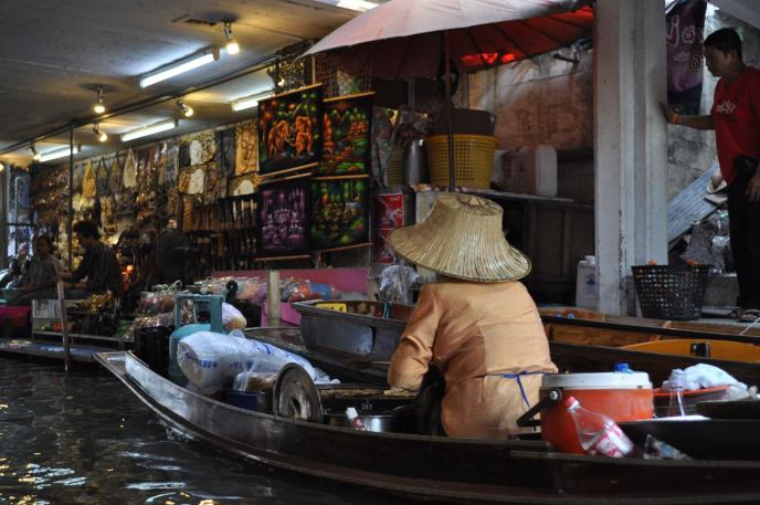 Damnoen Saduak floating markets