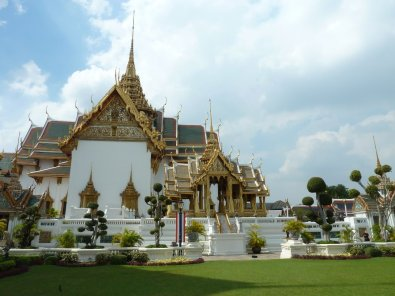 The Grand Palace gardens