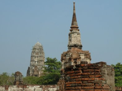Ayutthaya ruins date back to 1448
