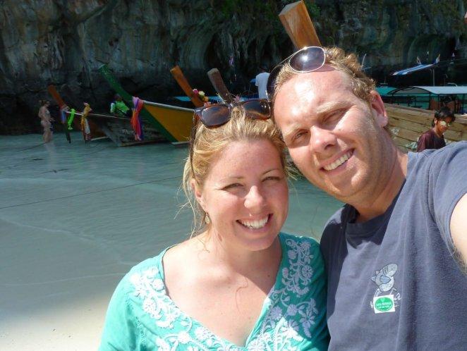 Bill & Eva on The Beach