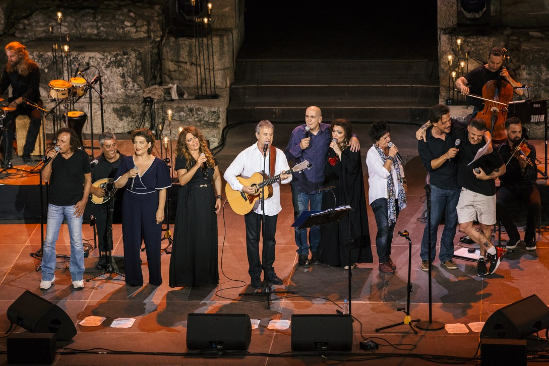 Melodia Fm – 'Perfect Imperfections' at the Odeon of Herodes Atticus