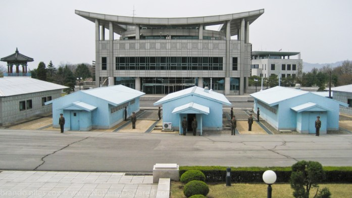 Inside the DMZ, near the western coast of the peninsula, Panmunjom is the home of the Joint Security Area (JSA)