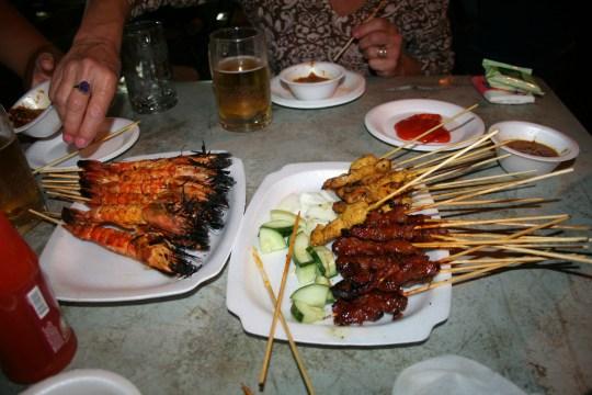 Singapore Street Food Hawker Center
