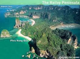 railay map