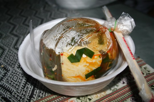 Laos Street Food Soup