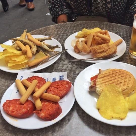 Spain Tapa Street Food