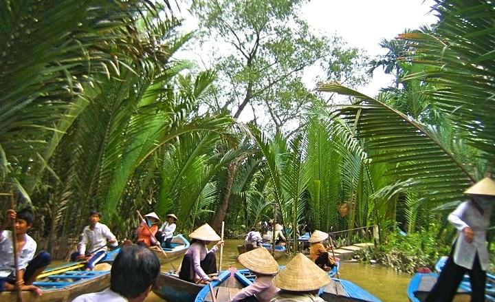 Floating market_Fotor