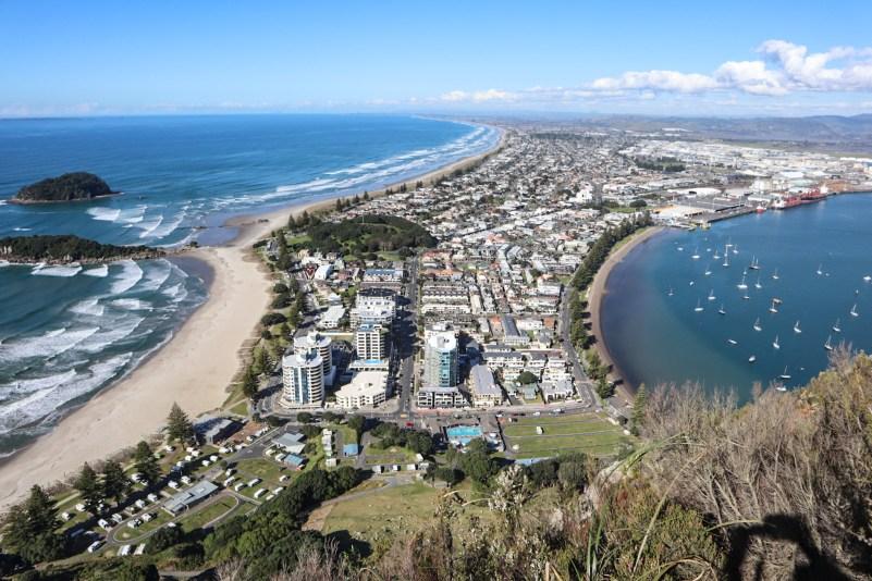 Mount Maunganui New Zealand View