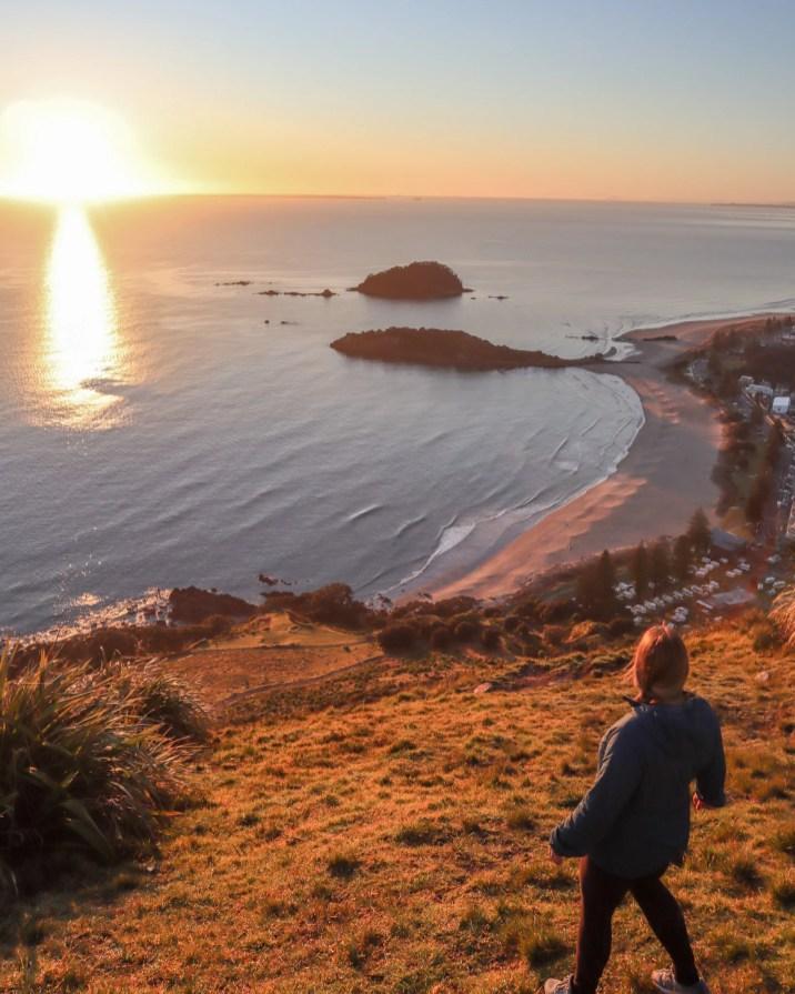 Mount Maunganui Sunrise View