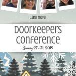 2019 Winter Doorkeepers' Conference | nothingnewpress.com