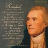 jefferson thanksgiving proclamation 1779