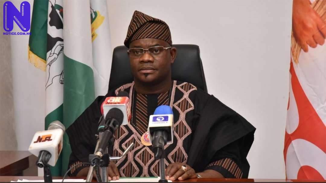 Yahaya Bello Kogi State Or Commissioner Information Communication Strategy Kingsley Fanwo Or Lokoja