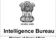 job central intelligence officer Govt india
