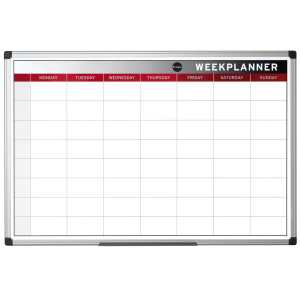 Colour Magnetic Week Wall Planner