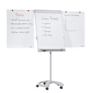 Franken Easy Height Adjustable Executive Mobile Flipchart Easel