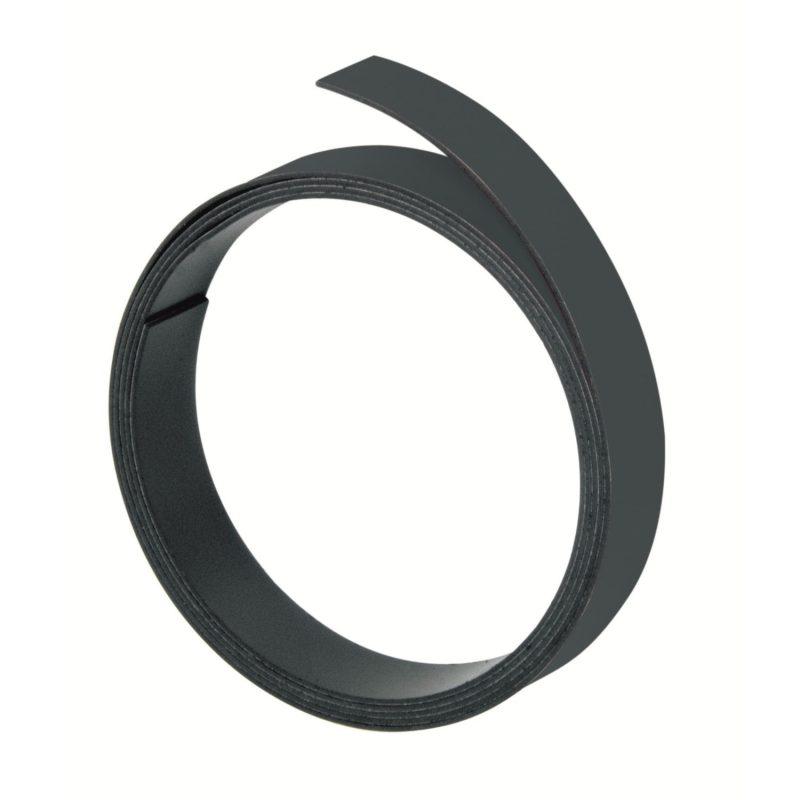 Franken Black Magnetic Strip 10mm x 1m