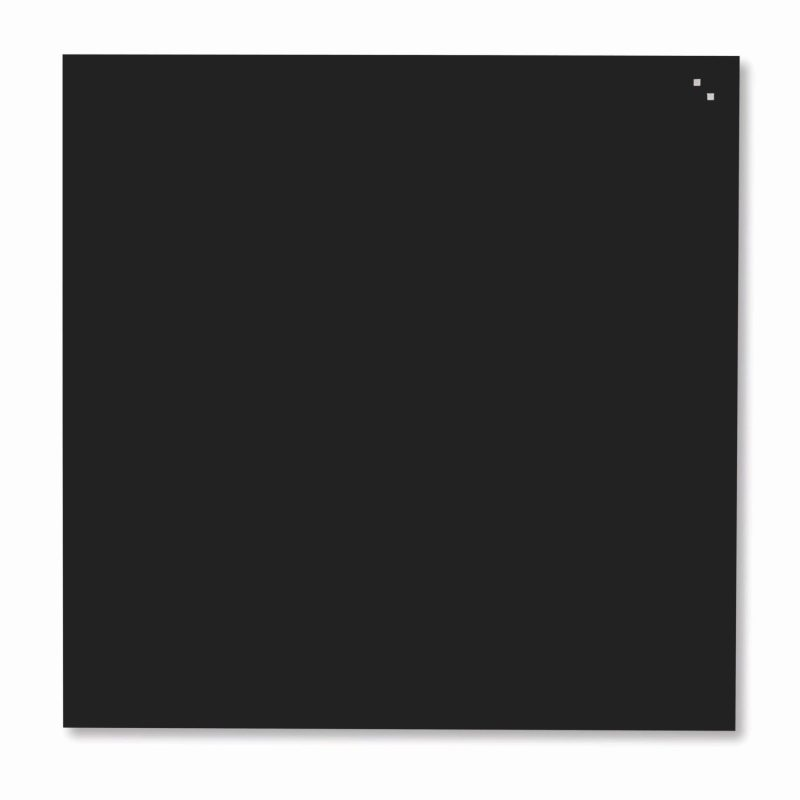 Franken Magnetic Glassboards 350 x 350mm Black