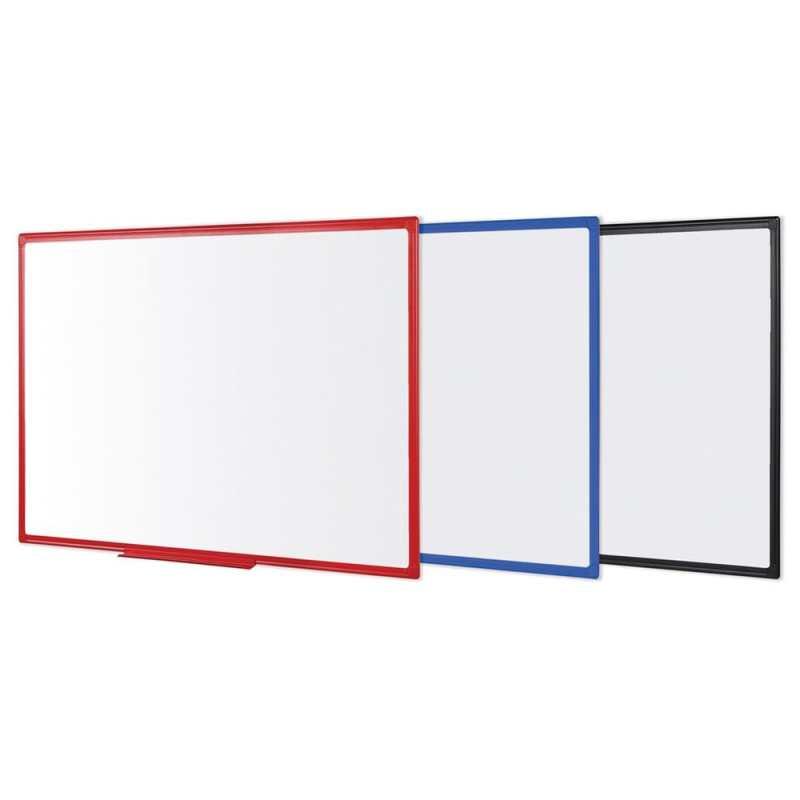 Bi-Office Maya Plastic Framed Whiteboard