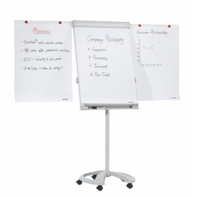 Franken Easy Height Adjustable Executive Mobile Flipchart Easel